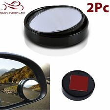 "2 X 2"" CAR SAFETY BLIND SPOT WING MIRROR TOWING REVERSING SELF ADHESIVE CONVEX"