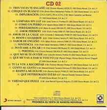 ultra rare CD 80's PAQUITA LA DEL BARRIO cheque en blanco COMO UN PERRO perfidia