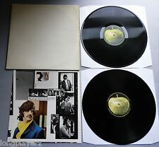 The Beatles - White Album UK 1976 Apple DBL LP with Poster & Photographs
