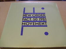 New Order - Movement - LP Vinyl//Neu&OVP