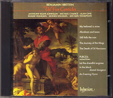 BRITTEN Five Canticles Purcell Songs CD Michael Chance A Rolfe Johnson Alan Opie