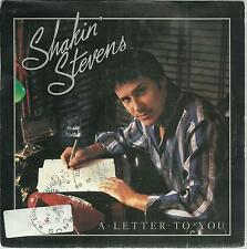 45 TOURS / SHAKIN  STEVENS  A LETTER  TO YOU         A3