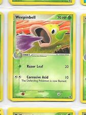 WEEPINBELL - 51/112 - POKEMON - EX FIRE RED LEAF GREEN - Buy more and save!
