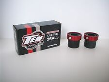 DANA 30- JEEP - TEN FACTORY-  HEAVY DUTY - OUTER AXLE TUBE SEALS - RED - MG21102