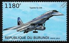 NASA TUPOLEV Tu-144 / 144LL (Flying Laboratory) SST Jet Airliner Aircraft Stamp