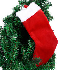 New Soft Tree Hanging Decoration Christmas Stockings Sack Socks Gift Bag 1