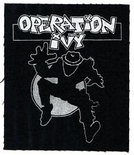 OPERATION IVY energy CLOTH PATCH sew on *FREE SHIPPING* ska man punk energy opiv