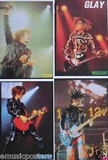 "GLAY ""4 CONCERT SHOTS OF THE BAND"" POSTER - Japan J-Rock Music"