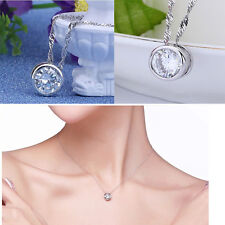 Pretty Silver Plated Lady Sophisticated Pendant Modern Stylish Necklace Hot Sale
