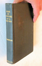 1903, N. Hawkins, Maxims and Instructions For The Boiler Room, Audel, HB, VG+