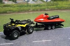 Siku 2314 Diecast Quad Bike with Trailer and Power Jetski Scale 1:50