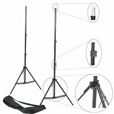 Kit 2x Cavalletto Stativo Professionale Foto Video DynaSun W803 220cm Flash Luci