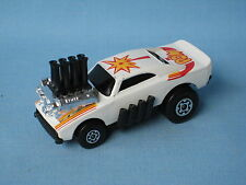 Matchbox Superfast White Lightening 48 Pi-Eyed Piper USA Roman Numeral UB