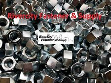 """(5) 5/8-11 Left Hand Thread Hex Nuts 5/8"""" x 11 With 15/16 Hex / Reverse Thread"""