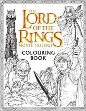 LORD OF THE RINGS ~ MOVIE TRILOGY COLORING BOOK ~ JRR TOLKIEN ~ BRAND NEW ~ SC