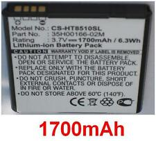 Batterie 1700mAh type 35H00166-02M Pour HTC Amaze 4G, HTC PH85110