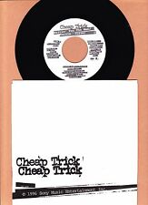 CHEAP TRICK - I WANT YOU TO WANT ME / WAITIN' FOR THE MAN 45 RPM  UNPLAYED  1996