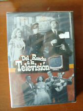 DEL RANCHO A LA TELEVISION Region code1&4 Audio in Spanish new DVD Luis Aguilar