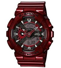 Casio G Shock * GA110NM-4A Neo Metallic Anadigi Red Shine Gshock COD PayPal