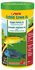 Sera Cichlid Green XL 1000 ml Green food with Spirulina for bigger herbivorous