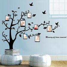 Photo Frame Baby Family Memory Tree Leaf Art Mural Wall Sticker Decal Home Decor