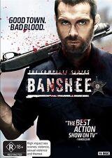 BANSHEE : The COMPLETE SERIES Seasons 1 2 3 4 : NEW DVD