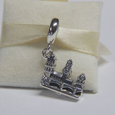 New Authentic Pandora Charm 791516 Charles Bridge Dangle Bead  Box Included