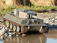 RC PANZER Tiger I Germany mit GEFECHTSIMULATION in 1:16 von Torro 708
