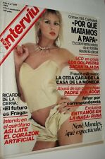 INTERVIU # 287 / NENE MORALES Spanish magazine 1981 - Complete with supplement!!