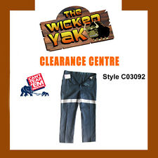 Can't Tear 'Em Men's Cotton Trousers with 3M Reflective Tape Size 87R-03092