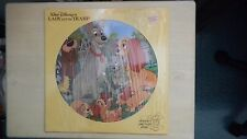 Disney's Picture Disc Record Walt Disney's LADY AND THE TRAMP 1980 LP