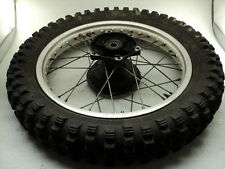 Kawasaki KDX250 KDX 250 #6012 Aluminum Rear Wheel & Tire