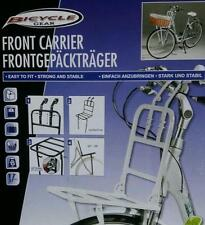 Front luggage carrier in White Bicycles, Bike pannier bike