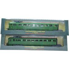 ATLAS 1:87 COLLECTION EDITIONS Z-4702(1) & Z-4702(2) SET(2PCS) GREEN TRAM MODEL