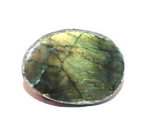 Labradorite  1/2 Polished Geode Crystal  26gms 35 diam.- Aura, Ascension,  #8805