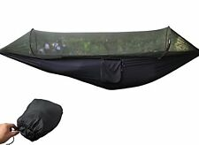 Parachute Camping Hammock Tent with Mosquito Net By NKTM Anti-Mosquito Quick TWO