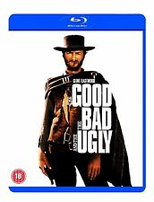 THE GOOD THE BAD AND THE UGLY BLU RAY Brand New Sealed UK Release Clint Eastwood