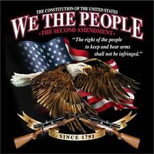 WE THE PEOPLE CONSTITUTION 2ND AMENDMENT TEE SHIRT SIZE XL adult T283  tshirt