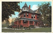 c.1920 J. Robert King Home Huntsville TX post card