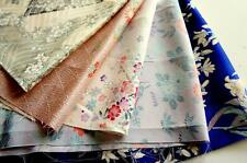 Patchwork Lot 261*** Vintage Japanese kimono Fabric ***valued pack***