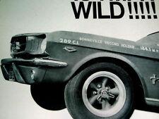 1967 ET MAG WHEELS AD-1965-1966 Ford Mustang-184MPH/289 V8 engine/BONNEVILLE/VTG