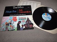 THE WHO - THE WHO SINGS MY GENERATION - PROMO MCA RECORDS LP ONE RECORD ONLY