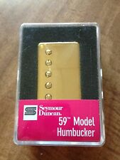 Seymour Duncan SH-1n 59 Model Neck Humbucker Pickup Gold Cover PAF 11101-01-GC