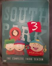 South Park The Complete Third Season Factory Sealed 3 Disc Set