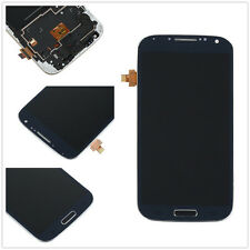 Blue For Samsung Galaxy S4 i9505 Full LCD Display Touch Screen Digitizer + Frame