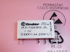 34.51.7-024-0010 finder Relais Relay Coil Voltage 24V 6A 250V