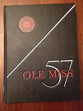 1957 University of Mississippi Ole Miss annual yearbook Mary Ann Mobley