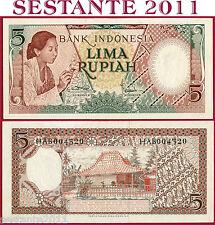 INDONESIA - 5 RUPIAH 1958 - P 55 - FDS / UNC