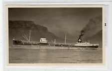 "Postcard size plain back photograph of Texas Oil tanker ""China"" (C18798)"