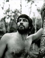 Alan Bates Shirtless Hairy 8x10 photo Q5390